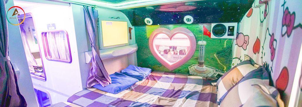Giường nằm Cabin đôi đi Sapa