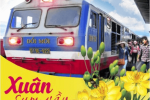 Vé tàu hỏa dịp Tết Kỷ Hợi 2019