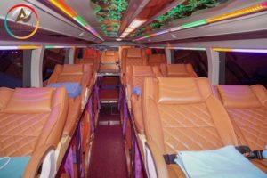 Review xe giường đôi Inter Family Hà Nội – Sapa của hãng Inter Bus Lines