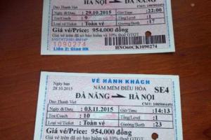 Mua cuống vé tàu – Bán cuống vé tàu thanh toán – Làm cuống vé tàu hoàn thanh toán tại Hà Nội